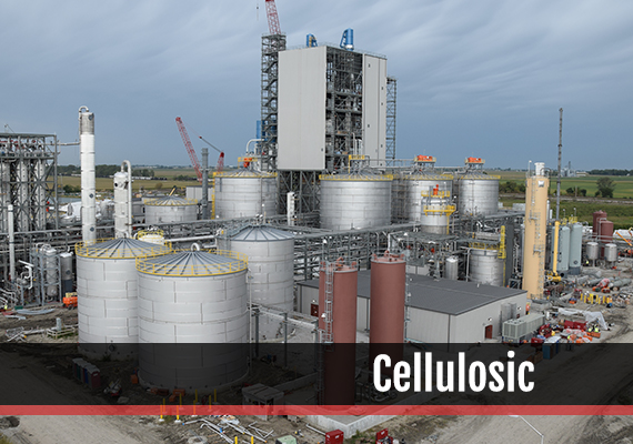 Fagen, Inc.'s experience in the Cellulosic industry.