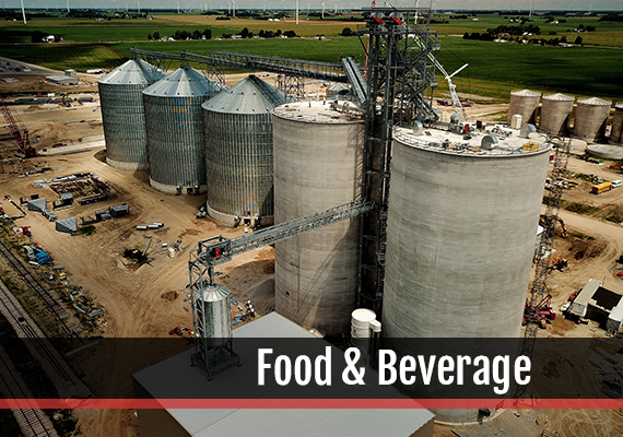 Fagen, Inc.'s experience in the Food Processing industry.