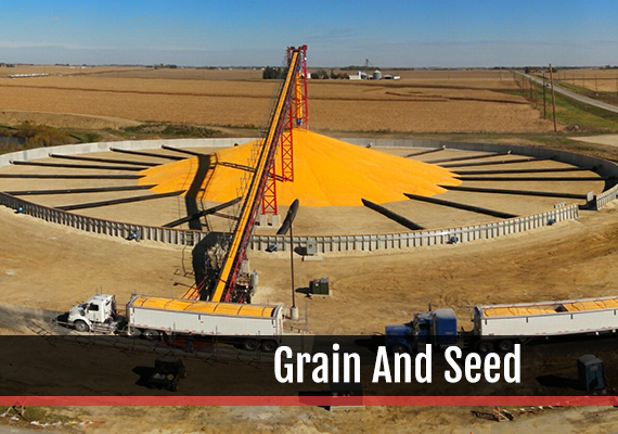 Fagen, Inc.'s experience in the Grain And Seed industry.