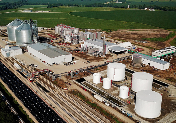 Fagen, Inc. was the EPC contractor for a 120 MMGY ethanol facility.
