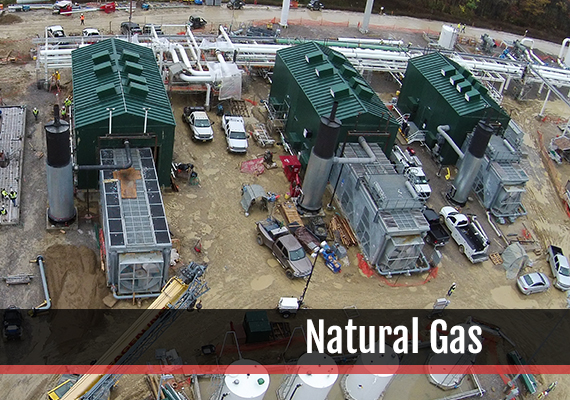 Fagen, Inc.'s experience in the Natural Gas industry.